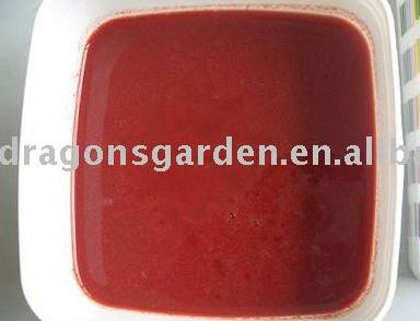 frozen fruits puree