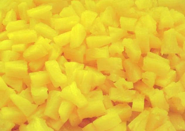 frozen Pineapple Diced